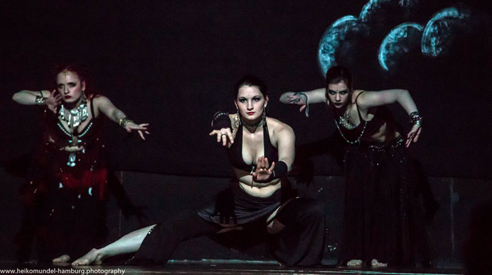Dancespace 2015, Tribal fusion belly dance, Hamburg dance space,