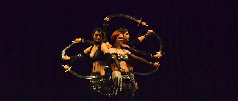 Dancespace Hamburg, tribal fusion bellydance