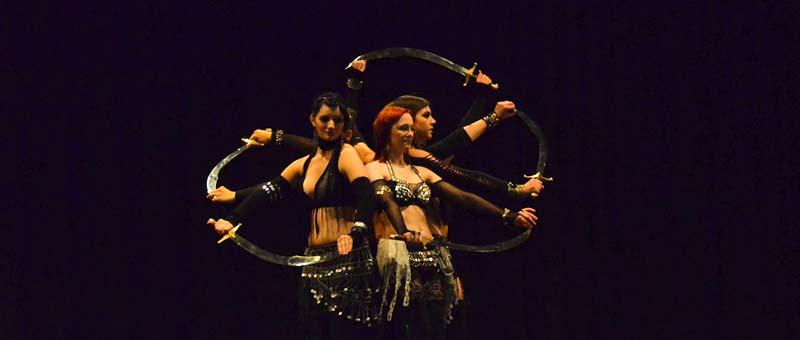 Dancespace Hamburg, tribal fusion bellydance